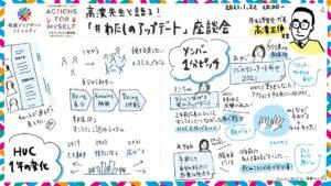 高濱先生と語るわたしのアップデート座談会